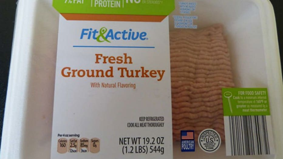 Fit & Active Fresh Ground Turkey With Natural Flavoring