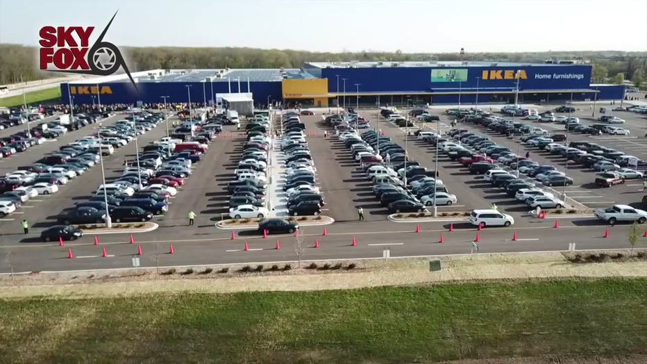 Opening day at IKEA Oak Creek