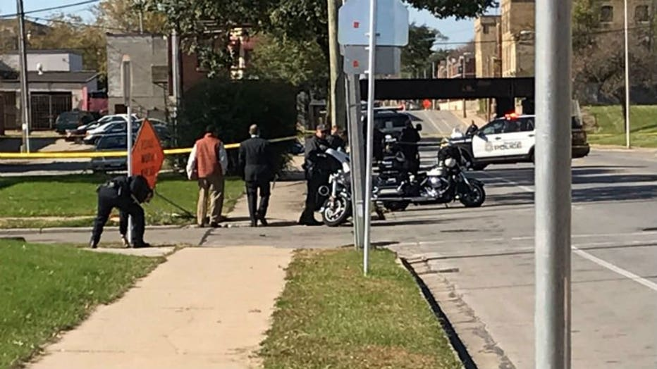 Pedestrian struck, killed near 29th and Center