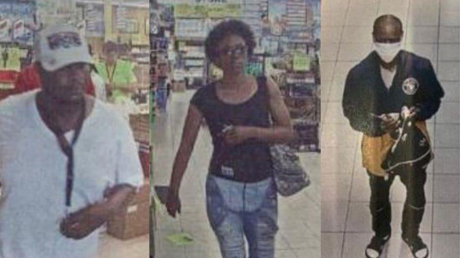 3 wanted in theft of Menomonee Falls liquor store
