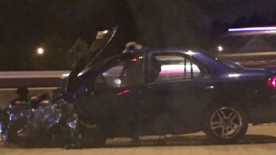 Crash on I-43 near Chase