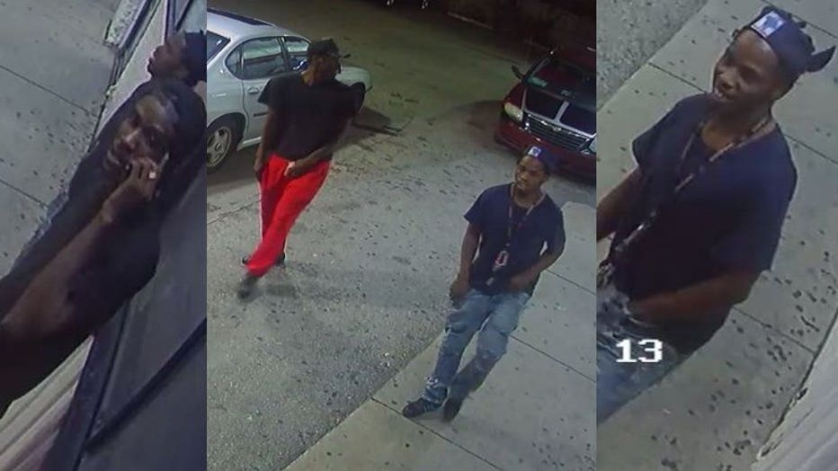 armed robbery suspects 38th and Hampton