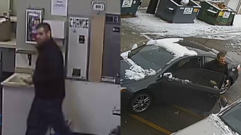 Muskego Laundromat theft