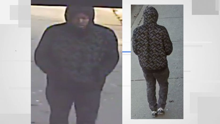 Shooting suspect, 14th and Garfield