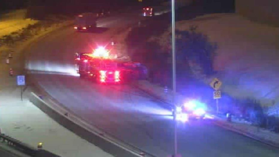 Bell Ambulance crash near Hale Interchange