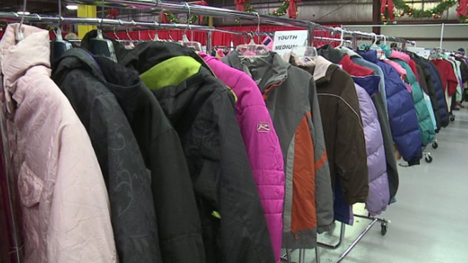 Salvation Army distributes winter coats for kids in need