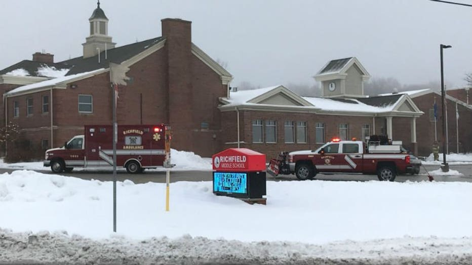 Classes canceled at Richfield MS in Washington County due to 'possible gas leak'