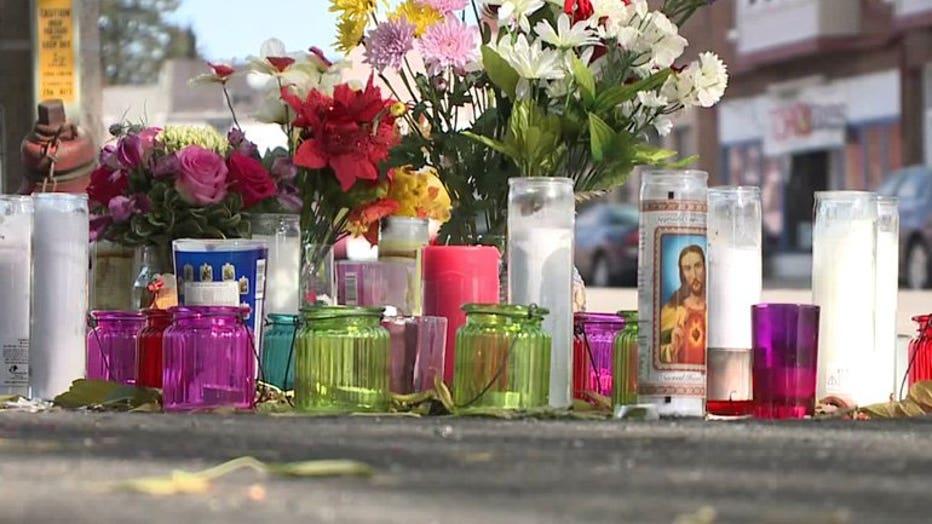 Memorial at Becher & Muskego, Milwaukee