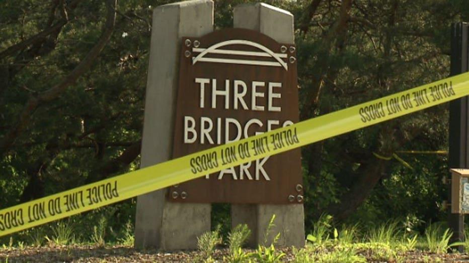 Death investigation near Three Bridges Park
