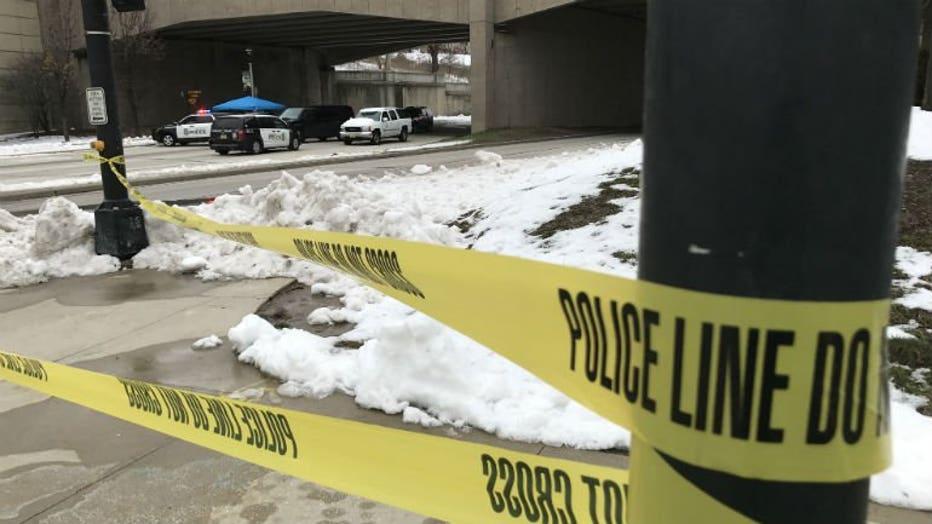 Death investigation near Milwaukee Art Museum