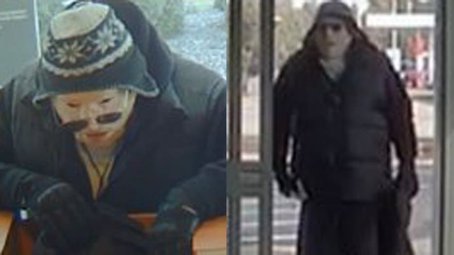 Masked man accused in bank robberies in Glendale, Fox Point