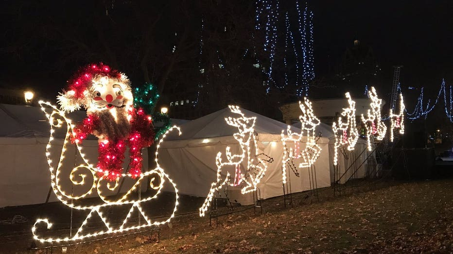 Milwaukee Holiday Lights Festival