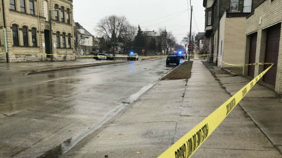 Shooting near 14th and Becher