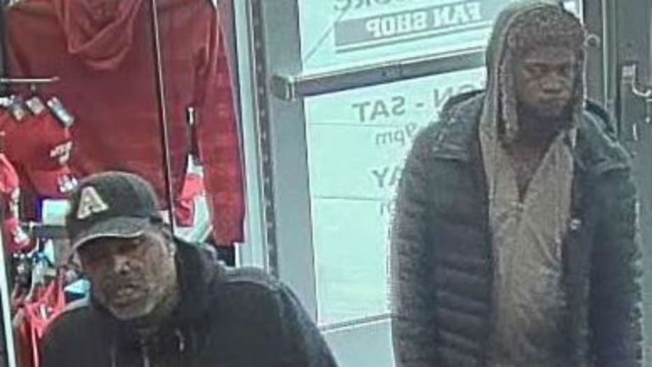 Brookfield police seek 2 suspects after theft from University Book Store