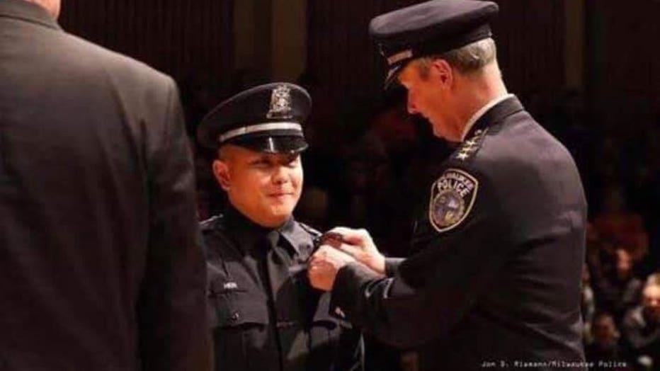 Milwaukee Police Officer Kou Her