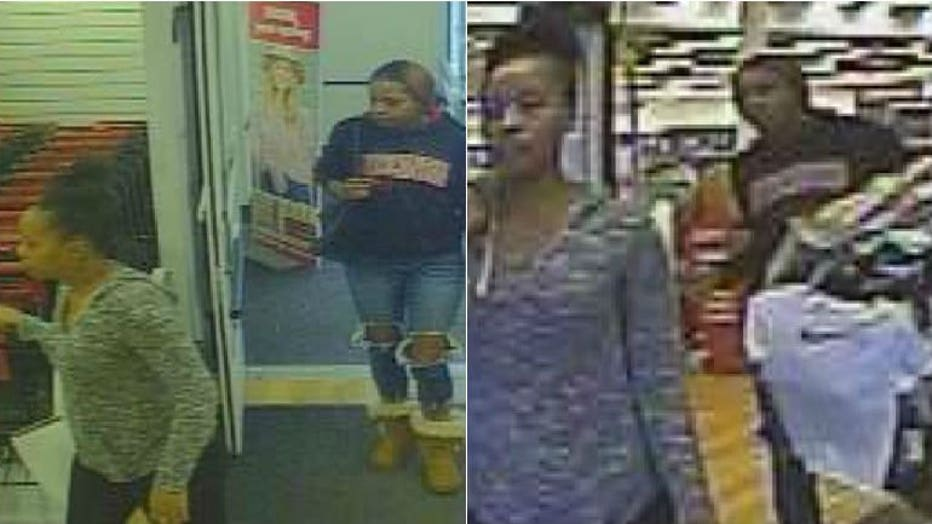 Brookfield police seek suspects who stole clothing from TJ Maxx