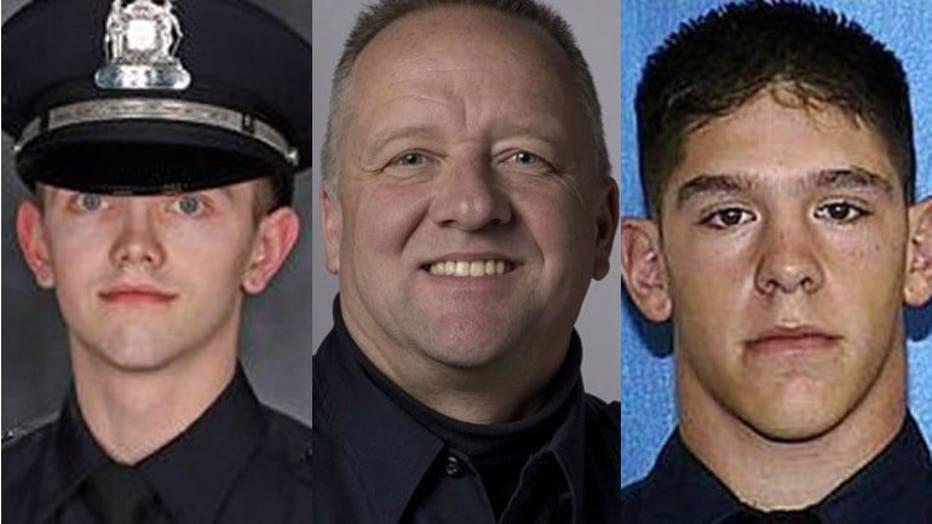 Officer Charles Irvine Jr., Officer Michael Michalski, Officer Matthew RIttner