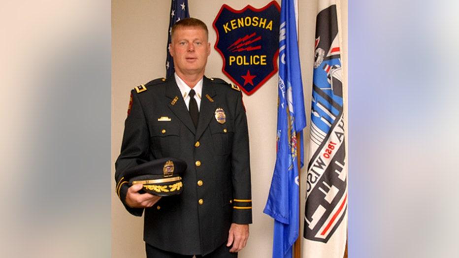 Kenosha Police Chief John Morrissey