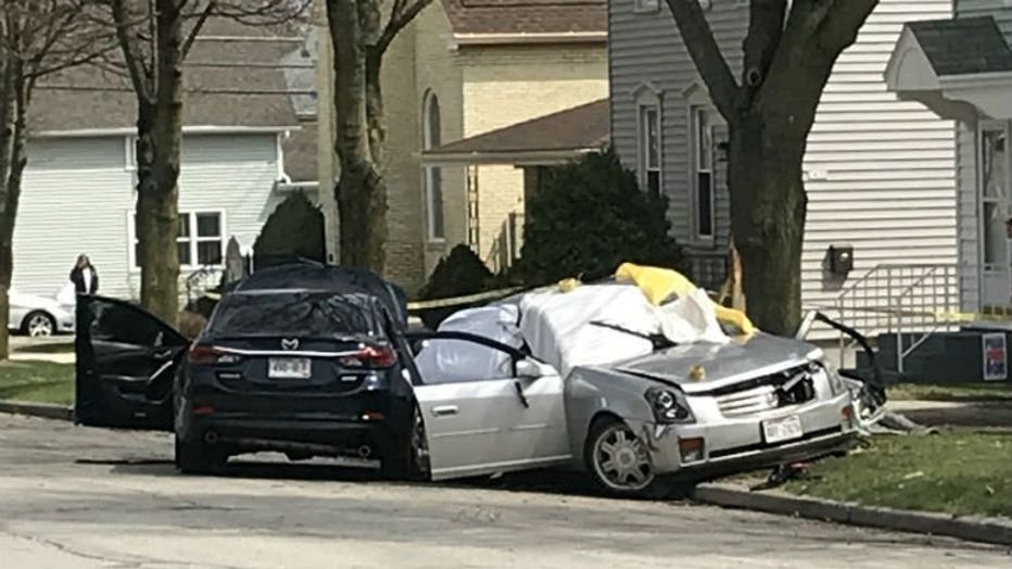 Fatal crash near 10th Street and Georgia Avenue in Sheboygan