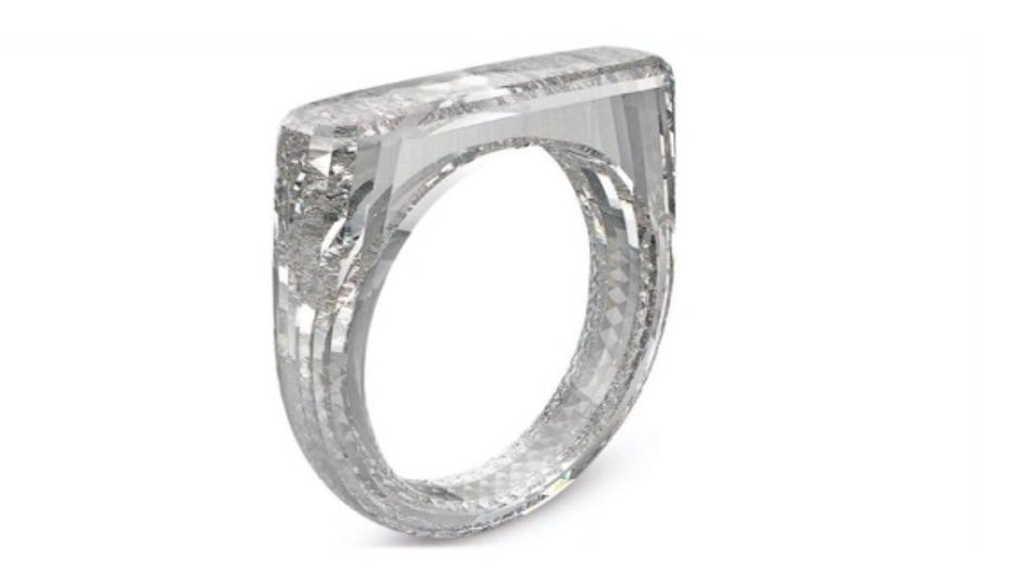 Ring made out of diamond