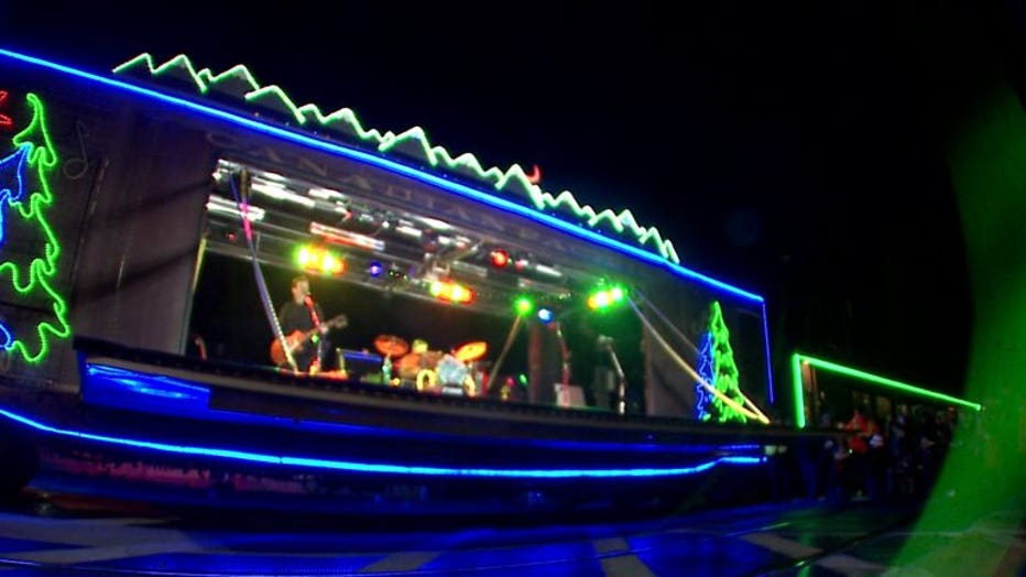 Canadian Pacific Holiday Train stops in Wauwatosa
