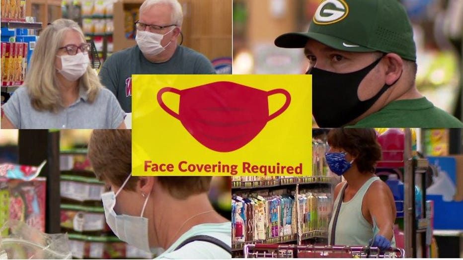 Masks required at Woodman's