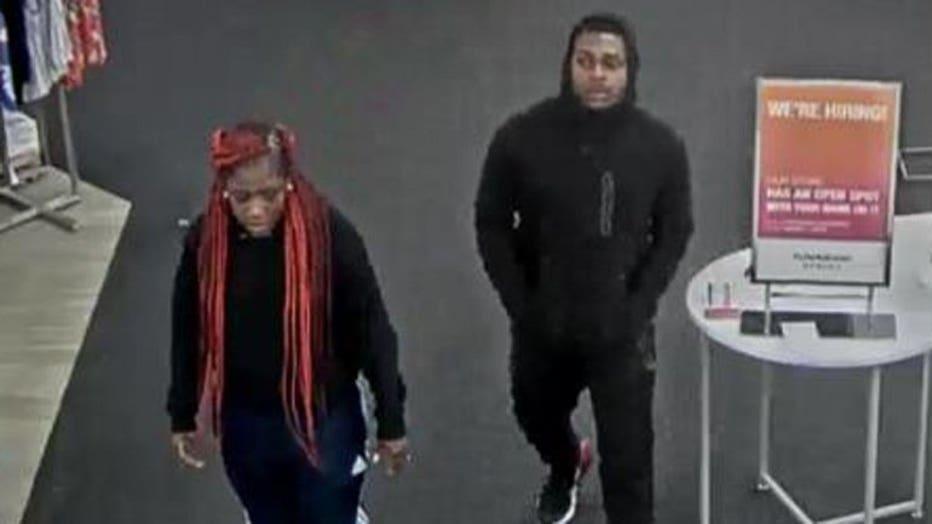 Menomonee Falls Kohls theft suspects