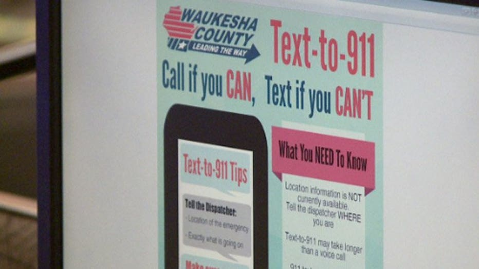 Text-to-911 service
