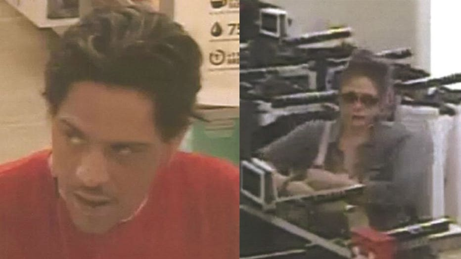 Kohl's Department store theft suspects
