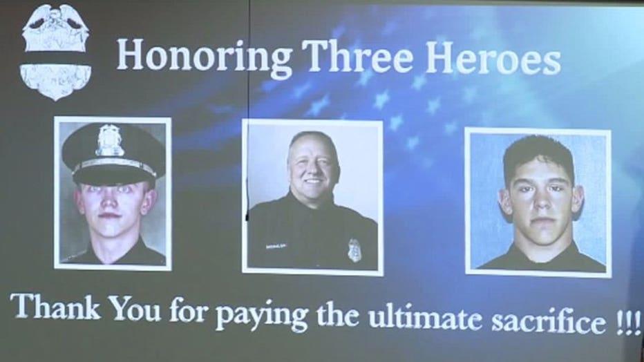 Officer Irvine Jr., Officer Michalski, Officer Rittner