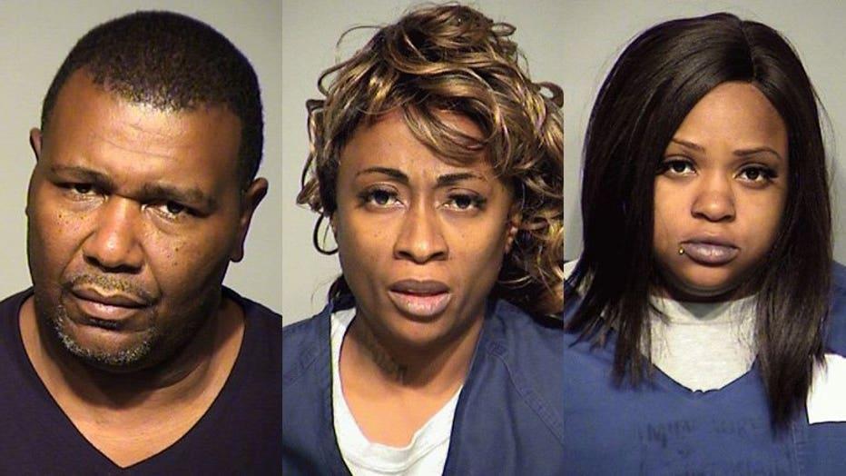 Stacy Harvey, Yolanda Holmes, Bernesha Thompson