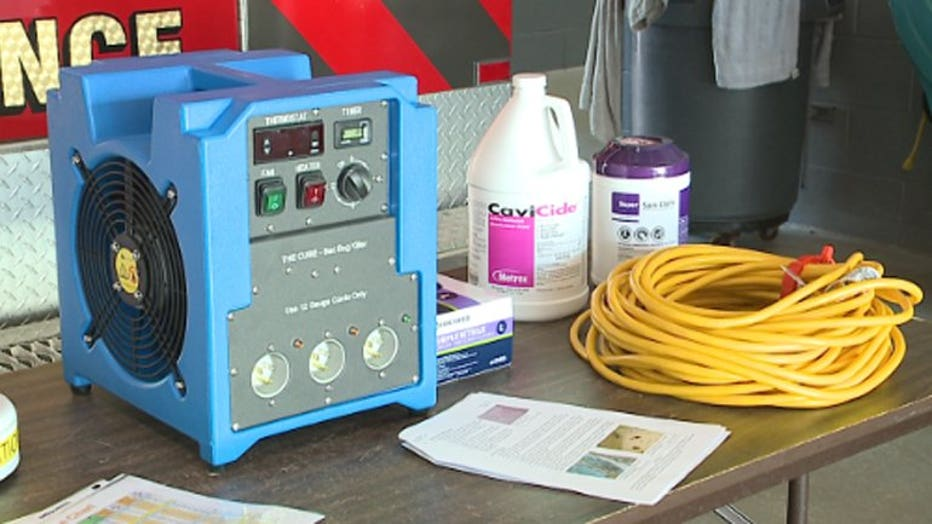 Waukesha Fire Department has new tool to fight bed bugs