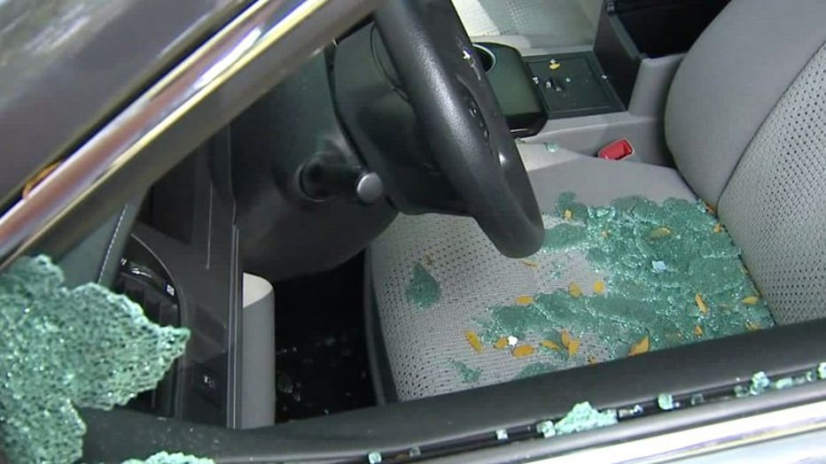 Windows smashed in at least 40 vehicles in Bay View neighborhood