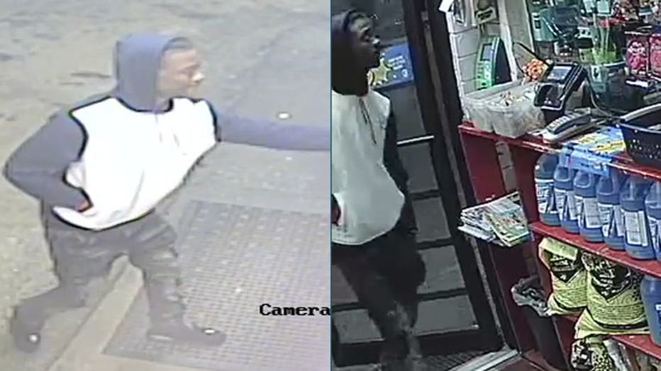 Strong-arm robbery suspect, Marquette University Police Department