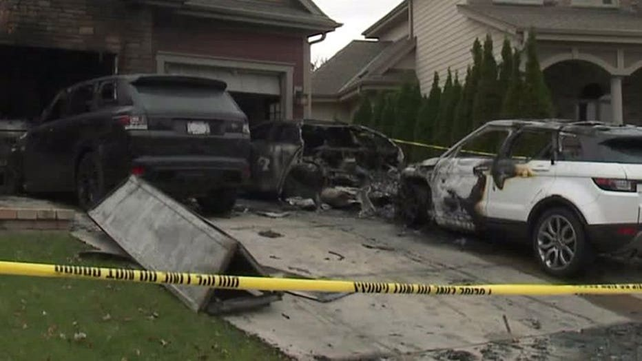 Vehicles set on fire at home of MMA star Anthony Pettis