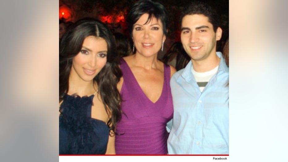 Kim Kardashian, Kris Jenner and Christian LaBella (Photo Courtesy TMZ.com)