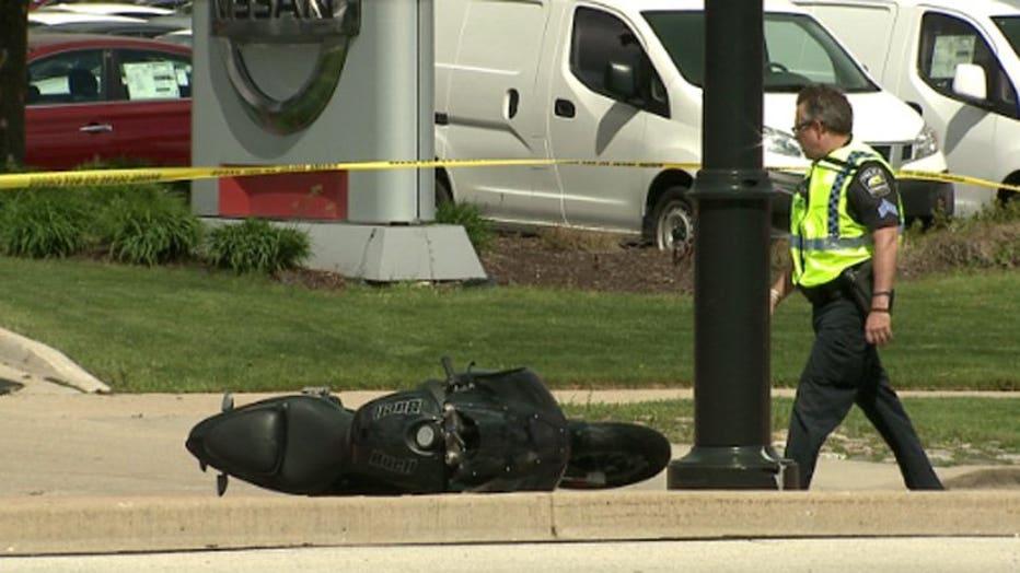 Fatal motorcycle crash near 27th & Grange
