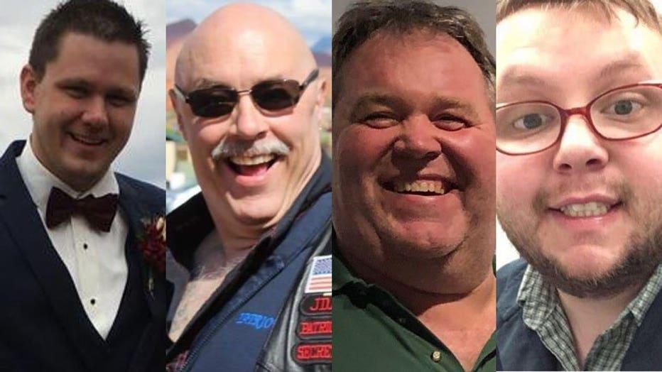 Allen Stevens, Jeff Cummings, Byron Biehn, Daniel Nicklas -- AB Specialty Silicones victims