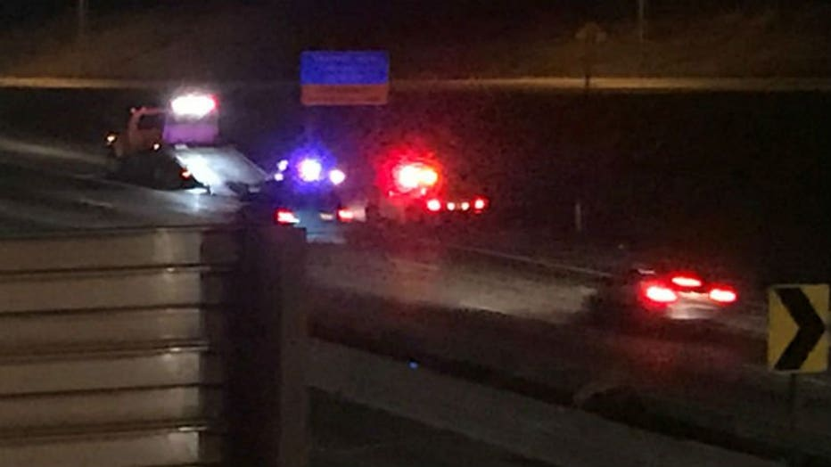 MPD squad involved in crash on I-43 SB near North