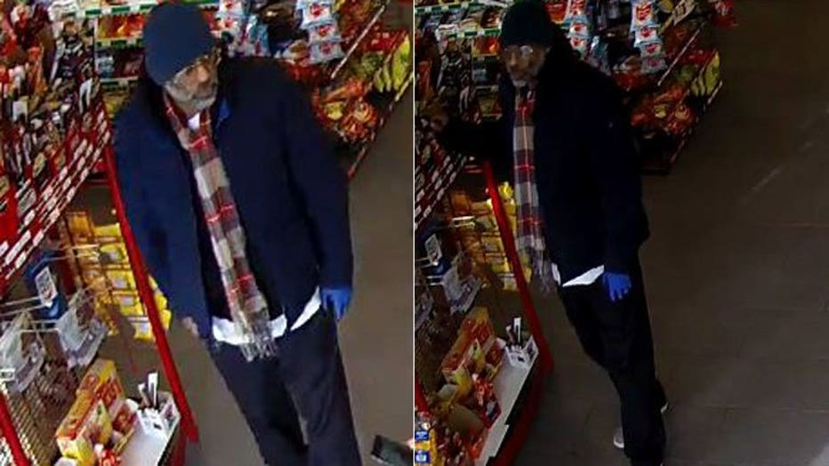 Armed robbery suspect 27th and St. Paul
