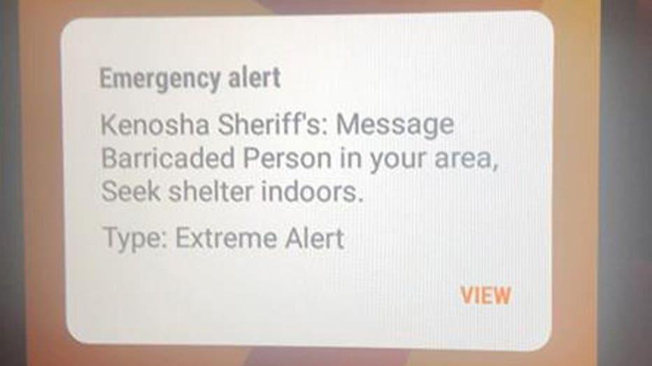 Pleasant Prairie alert