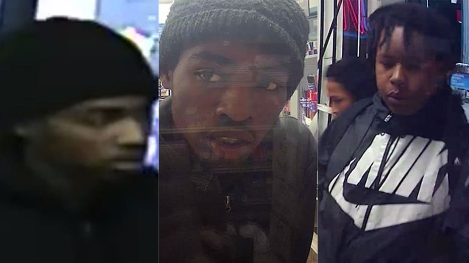 Suspects Wanted for Armed Robbery and Recklessly Endangering Safety