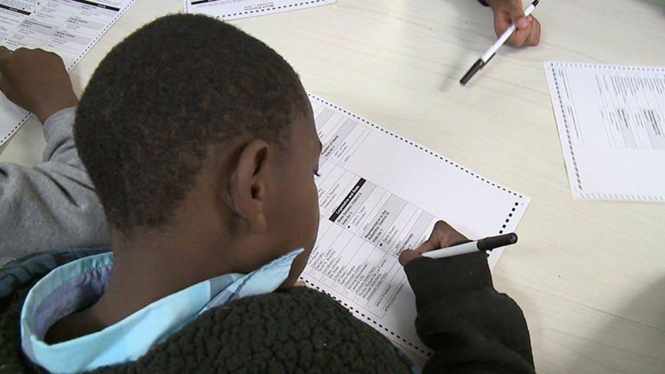 Mock election held at Siefert Elementary School