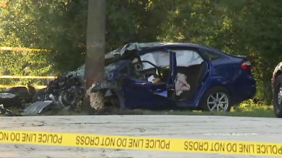 Crash near Jefferson and Knapp