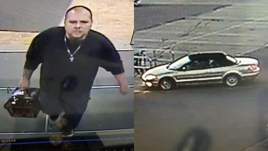 Port Washington theft suspect