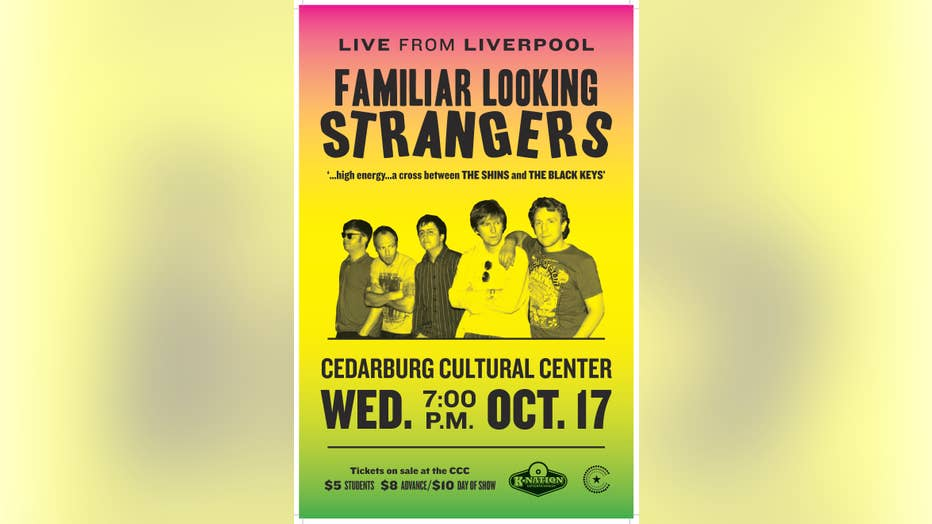 Familiar Looking Strangers Oct. 17th concert