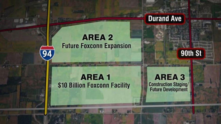 Foxconn site identified in Mount Pleasant