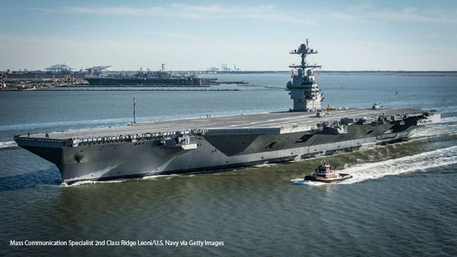 GettyImages-666333580 USS Gerald R. Ford