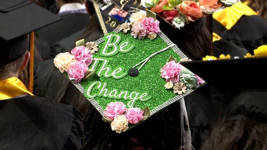 UWM graduation