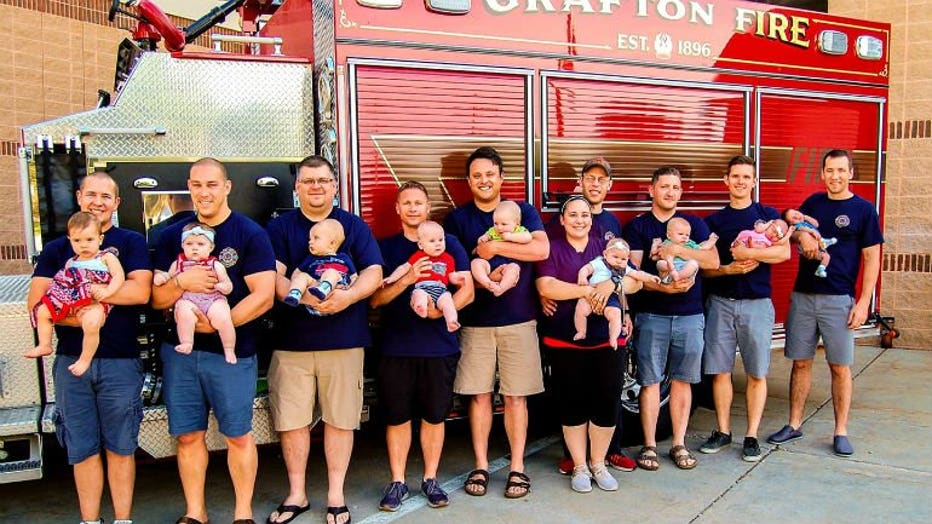 Grafton Fire Department baby boom